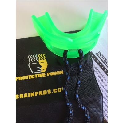Brain-Pad mouth guard-Youth-Neon green