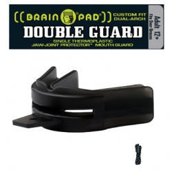 DOUBLE GUARD Black - Strap Included - Adult