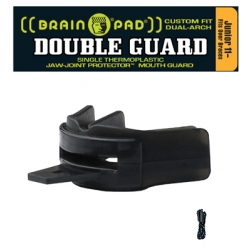 DOUBLE GUARD Black - Strap Included - Junior